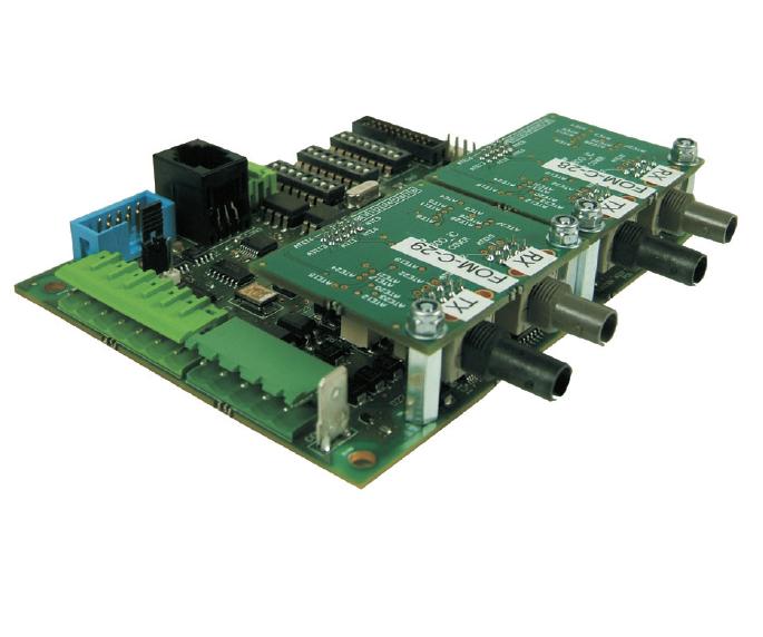 Сетевой интерфейсный модуль TLI800EN и волоконно-оптический модуль FOM800 в Алматы, Казахстан
