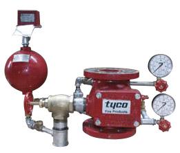 Клапан спринклерный сигнальный водяной с обвязкой [AV-1-300] в Алматы, Казахстан